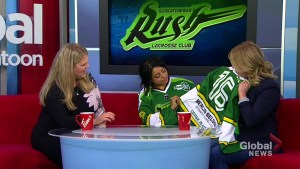 Saskatchewan Rush honouring University of Saskatchewan with special jerseys